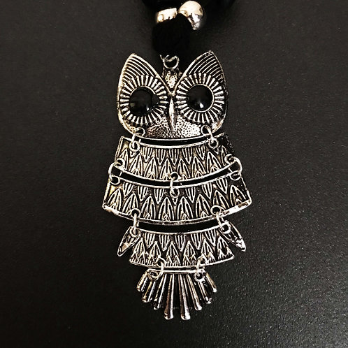 """The Smart Owl"" Traditional Handcrafted Antique Jewellery Necklace"