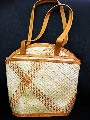 Stylish Handcrafted Eco-friendly Cane Tote Hand-Bag