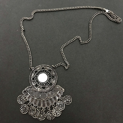 Traditional Handcrafted German Silver Jewellery Necklace