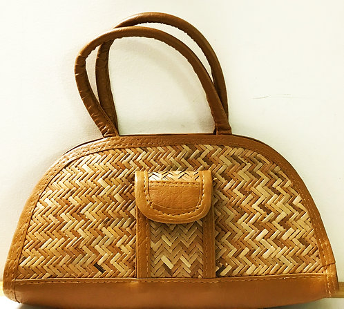 Stylish Handcrafted Eco-friendly Cane Hand-Bag