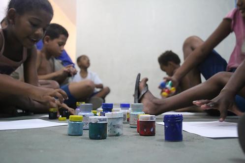 Tinta guache 500ml 6 unidades : ONG Gamboa Ação - Bianca
