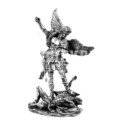 michael-lucifer-gabriel-statue-sculpture