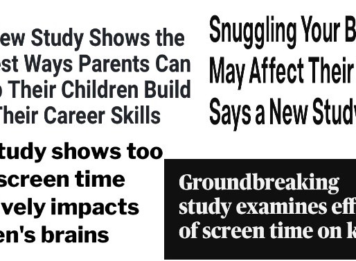 """New Study Shows..."" Thinking Critically About Research"