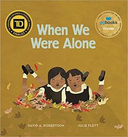 book cover_when we were alone