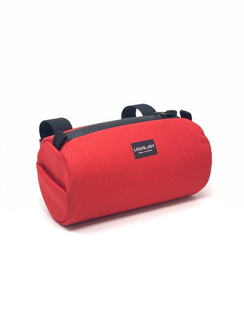 Red Handlebar Bag