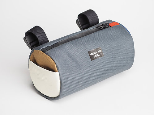 Color Block Handlebar Bag