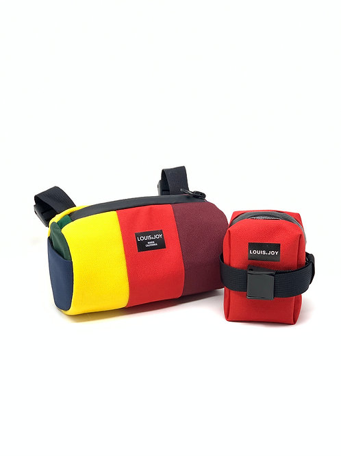 Tri-Panel Handlebar Bag & Saddle Bag Duo *SALE*