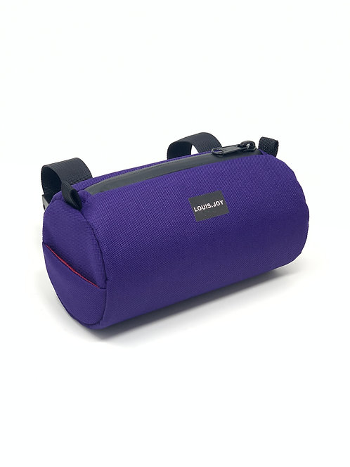Purple Handlebar Bag