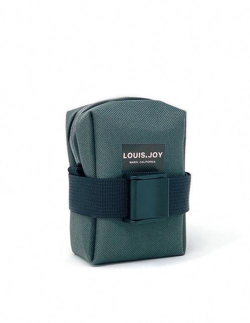 Charcoal Saddle Bag