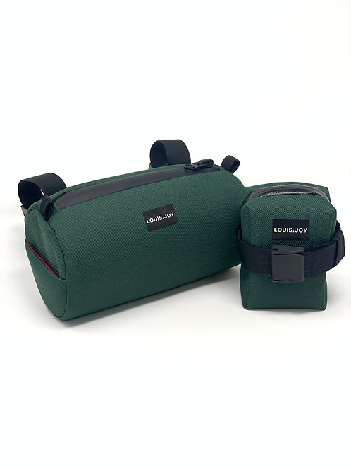 Forest Handlebar Bag & Saddle Bag Duo