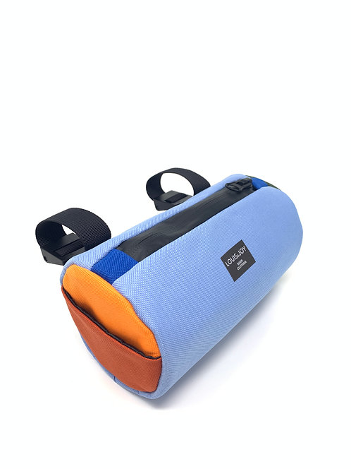 Color Block Handlebar Bag