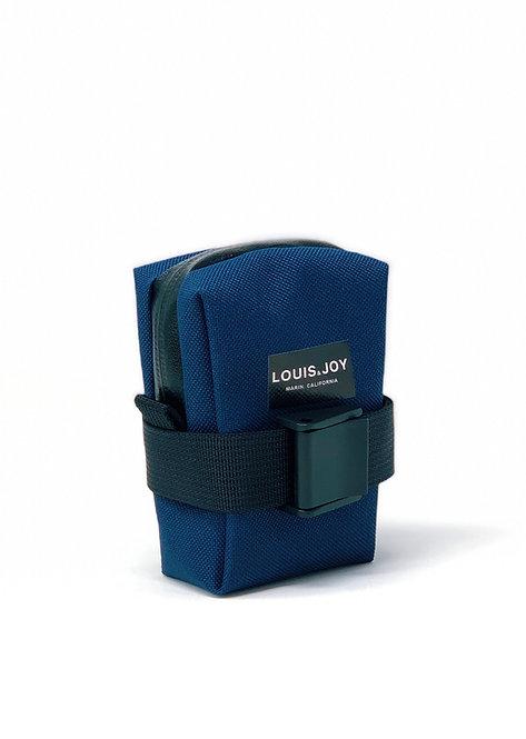 Navy Saddle Bag