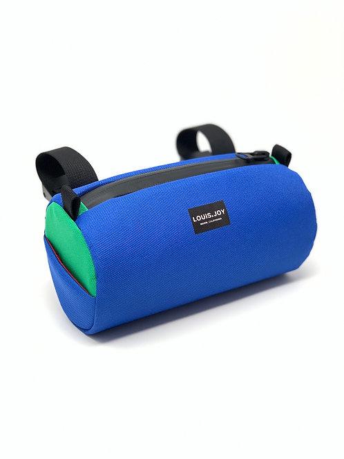 Royal Blue/Kelly Green Handlebar Bag