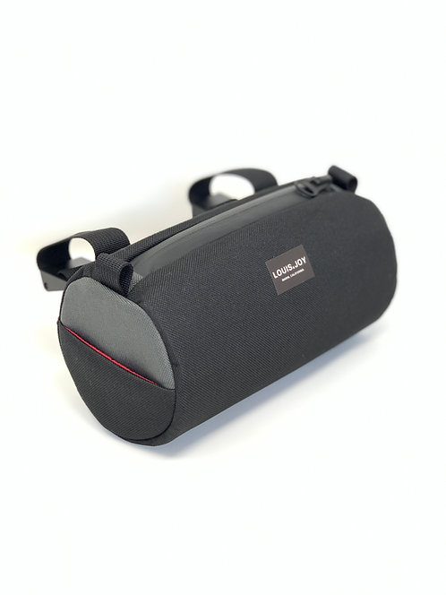 Black/Charcoal Handlebar Bag
