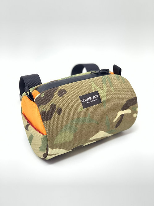 Two Tone Handlebar Bag