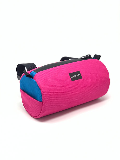 Hot Pink/ Turquoise Handlebar Bag