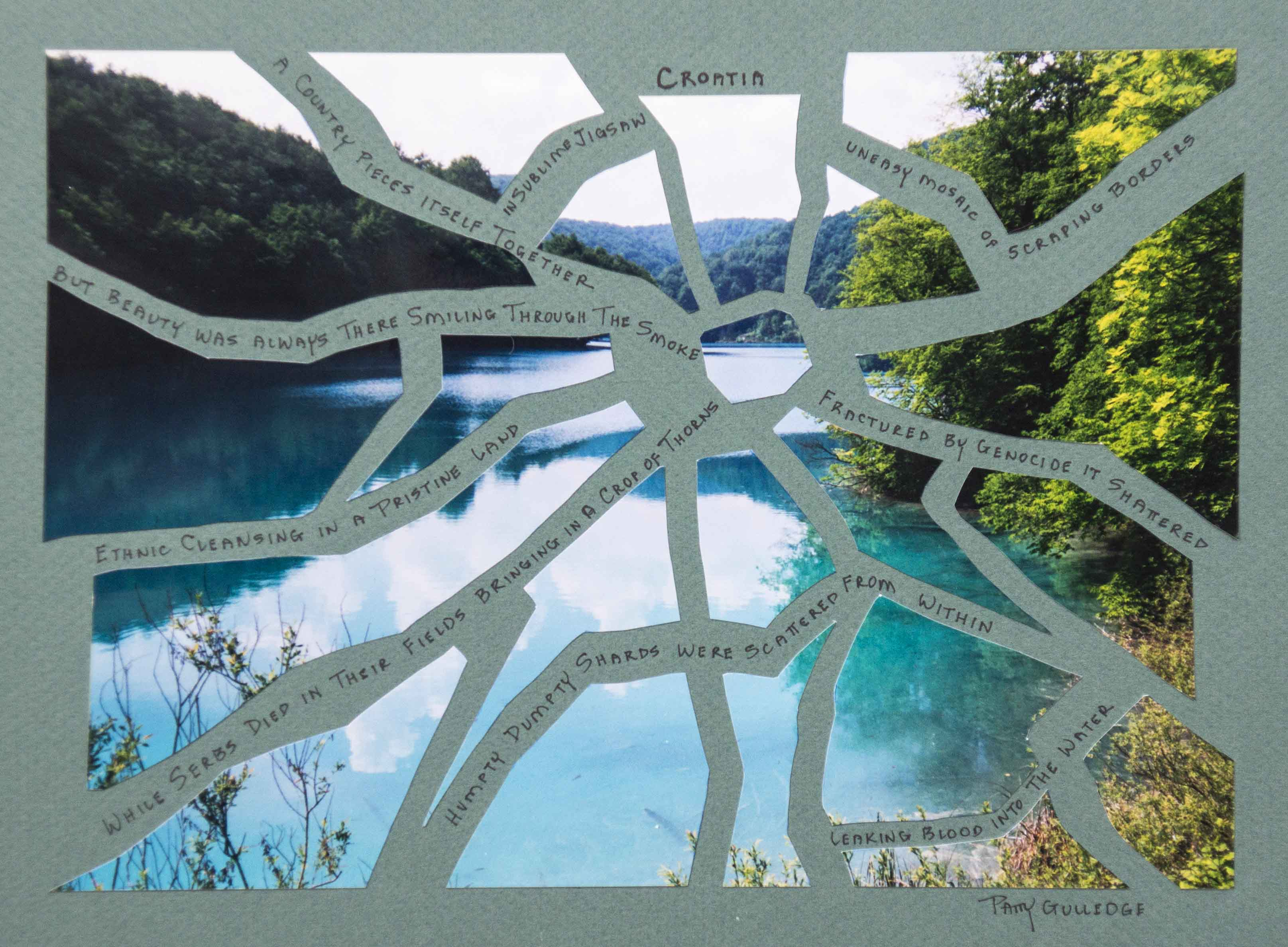 Croatia Word Art