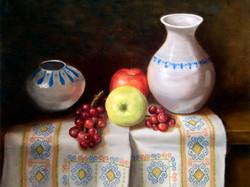 Pottery Still Life (Oil)