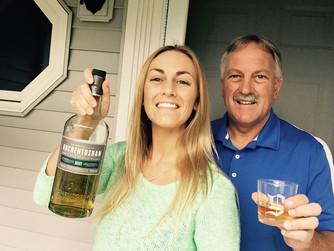 Auchentoshan Select tasting with my papa-- Tom Seidewand!
