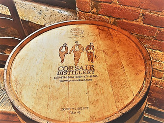 Corsair. The most interesting whiskey you will ever taste and right in Nashville!