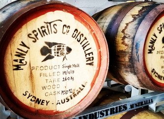 Manly Spirits. Where the ocean, gin and whisky collide.