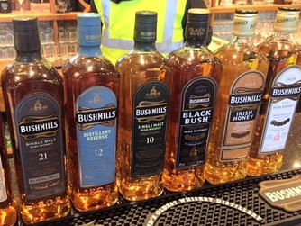 Bushmills. Don't underestimate this old dog. My favorite Irish Whiskey!
