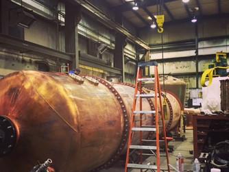 Vendome. The copper magic workers of North America.