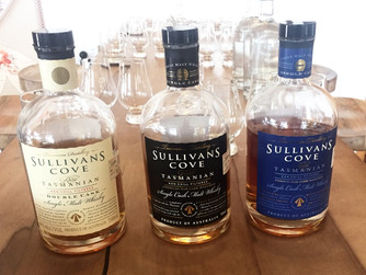 Sullivan's Cove. The most decorated Tas Single Malt.