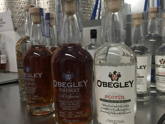 Whiskey, Poitin and all things Irish at O'Begley Distillery.