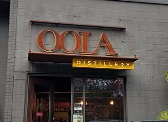 Oola. Seattle's alternative Bourbon distillery in Capitol Hill.