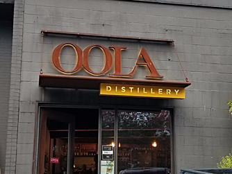 Oola. Seattle's alternative Bourbon distillery in Capitol Hill.