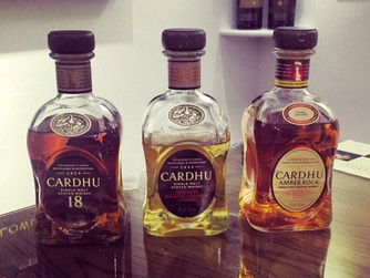 Cardhu. A combo of Diageo, Johnnie Walker and a female distiller.