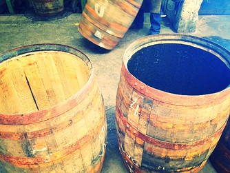 Independent Stave. The creation of the charred bourbon barrel.
