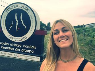 Finger Lakes Distilling in Grape World.
