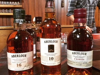 Aberlour. The French dram filled with Sherry sweetness.