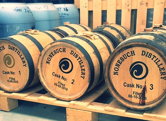 Nonesuch. Sloe gin, Sloe Malt and Whisky on the way!
