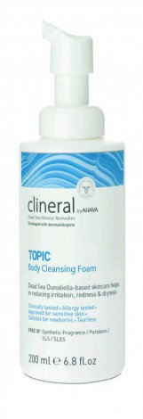 Clineral TOPIC Body Cleansing Foam