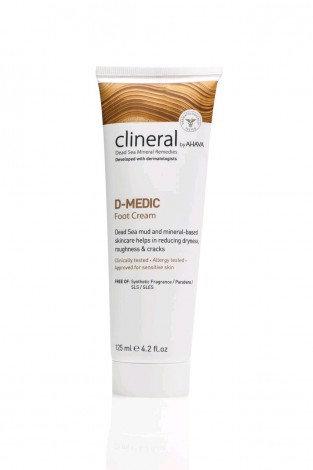 Clineral D-MEDIC Foot Cream 125ml