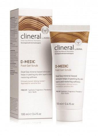 Clineral D-MEDIC Foot Gel-Scrub 100ml