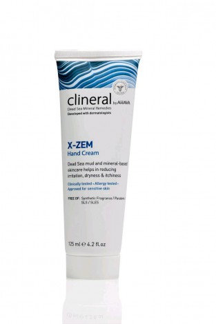 Clineral X-ZEM Hand Cream 125ml