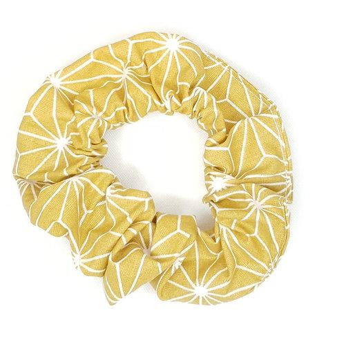 Chouchou jaune et blanc