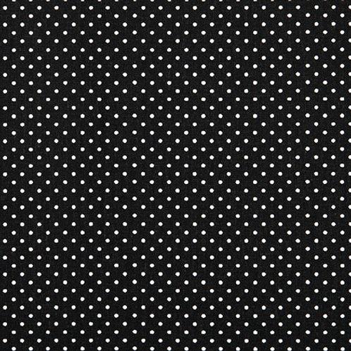 Tissus coton noir poids blanc