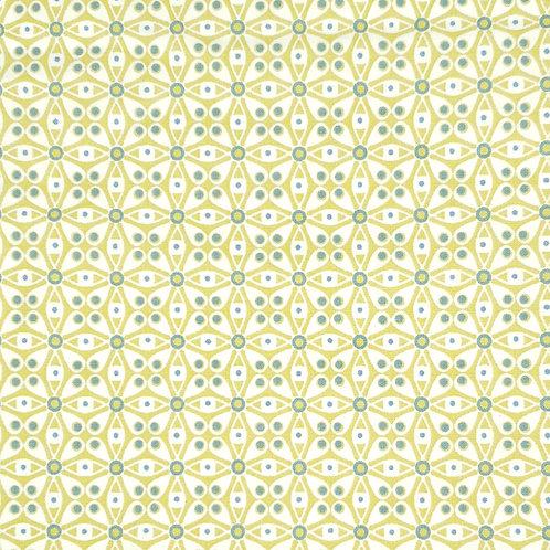Tissus coton vert