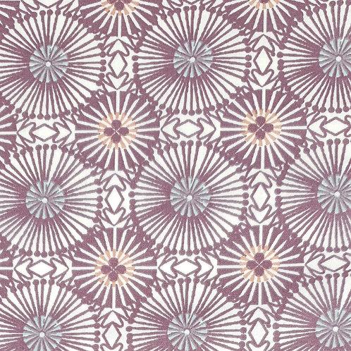 Tissus coton violet