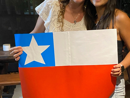 Chilean Independence day at the Flash Packers