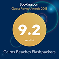 Cairns Beaches Flashpackers Palm Cove Boutique Backpackers Hostel Guest Review Award 2018