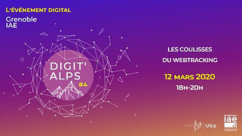 "IAE DIGIT'ALPS ""Les coulisses du webtracking"""
