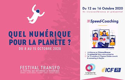Festival Transfo 2020 : Speed-coaching