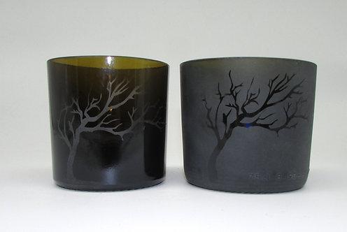 Winter Tree Tapas Glasses