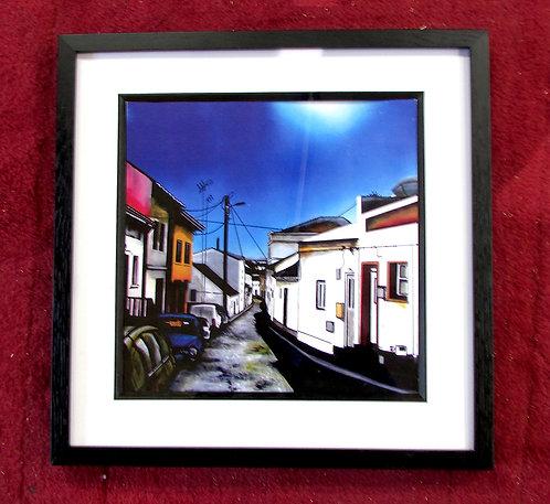 Framed A3 Print of Villa du Bispo